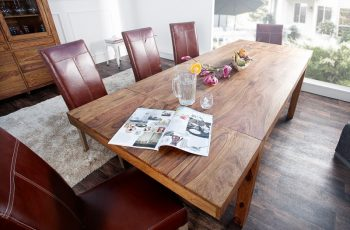 Jedálenský stôl Lagos 160-240cm m. Stoly pripojiteľné
