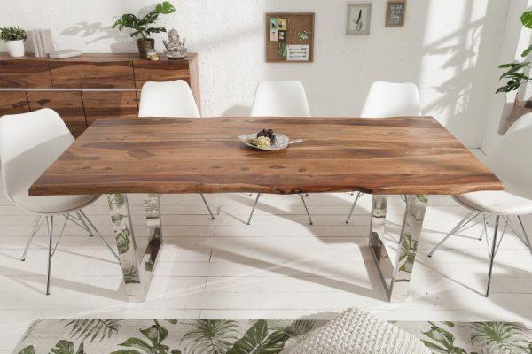 Jedálenský stôl Mammut 200cm sheesham 40mm