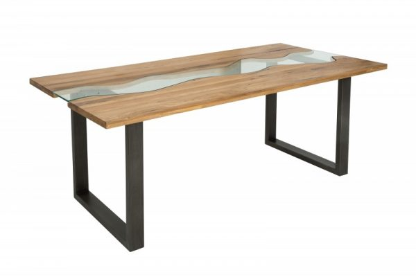 Jedálenský stôl River 200cm divý dub