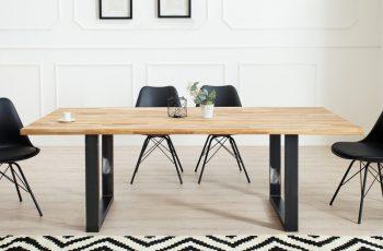 Jedálenský stôl Wotan 200cm dub Industrial