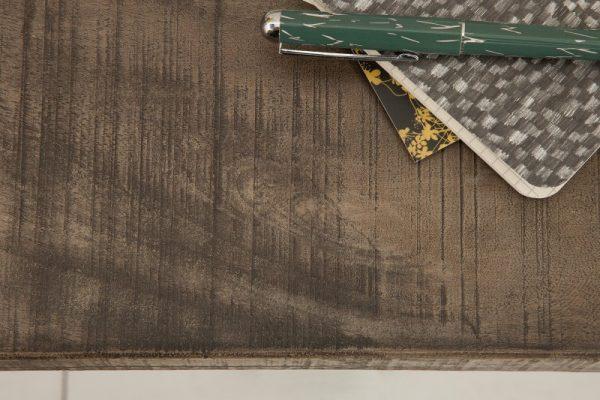 Stolík Iron Craft 115cm sivá Mango