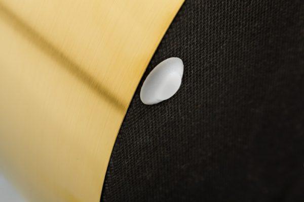 Taburet Modern Barock 35cm mint zlatá