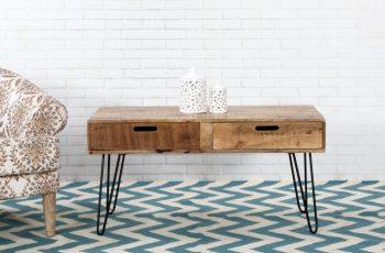 Drevený konferenčný stolík Mantis 50 x 100 cm »