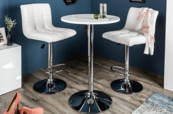 Barová stolička Move biela