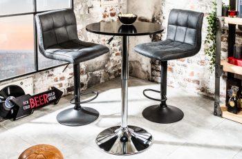 Barová stolička Move čierna