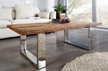 Konferenčný stolík Barracuda II 110cm recyklátteakové drevo