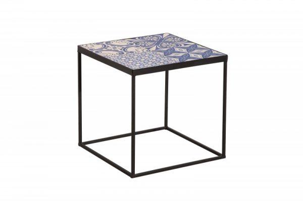 Konferenčný stolík Marrakesch 40cm blau biela