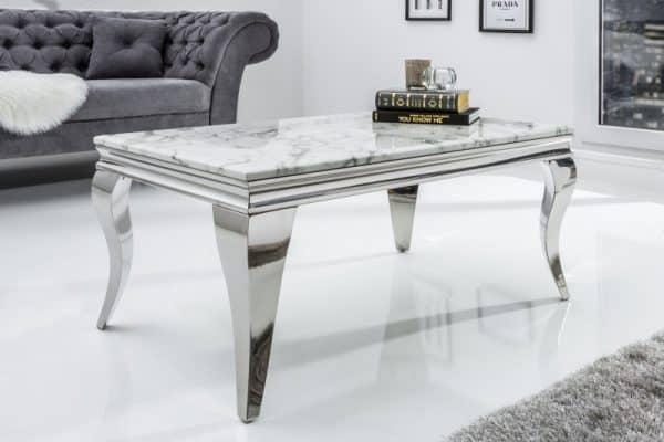 Konferenčný stolík Modern Barock 100cm mramor