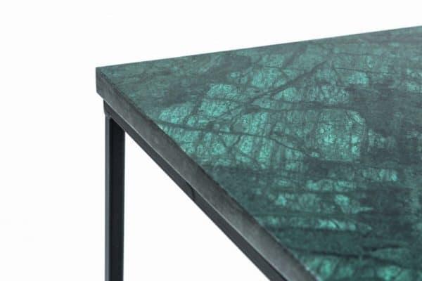 Konferenčný stolík Noble IV mramor zelená