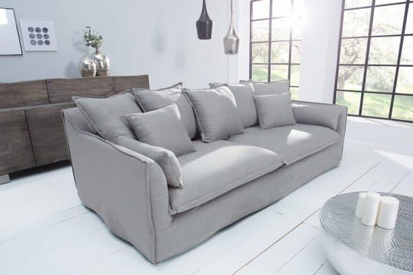 Sofa Heaven 3er plátno sivá
