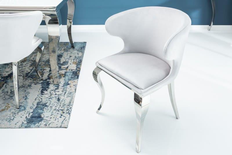 49fb19a22 Sivá jedálenská stolička Modern Barock II » » iKuchyne ESHOP s nábytkom