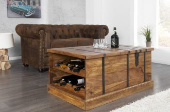 Konferenčný stolík Bar Bodega 100cm sheesham