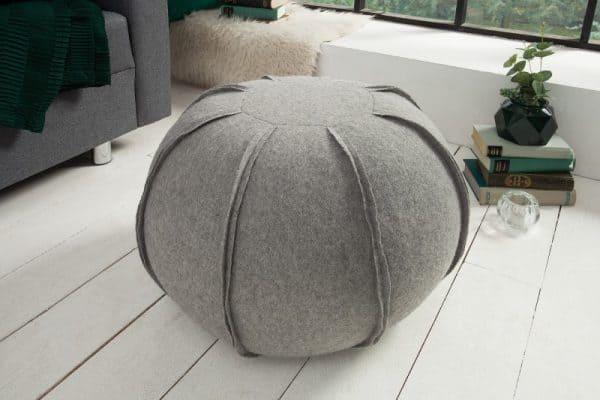 siv taburetka pouf filz 50 cm ikuchyne. Black Bedroom Furniture Sets. Home Design Ideas