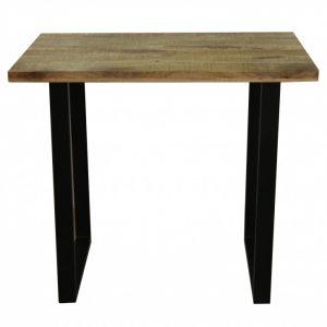 Barová stolička Iron Craft 120cm prírodná Mango