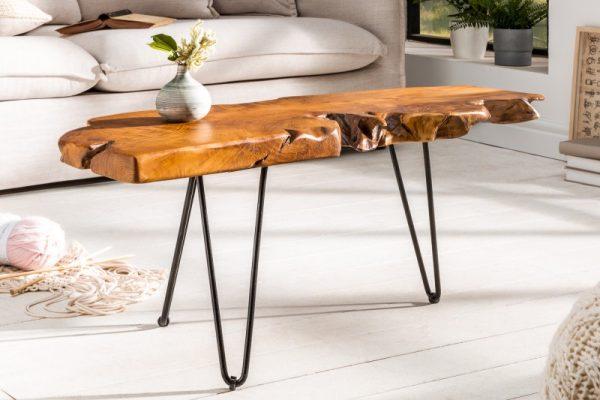 Konferenčný stolík Wild 100cm teakové drevo