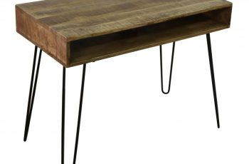 Písací stôl Mantis 100cm prírodná Mango
