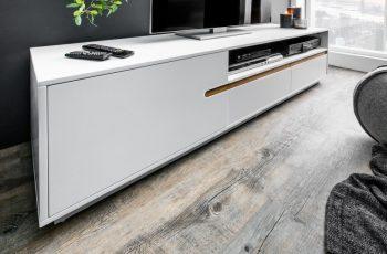 TV-stolík Elements 160cm biela