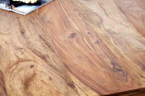 Drevený jedálenský stôl Makassar Sheesham 90 x 160 cm »