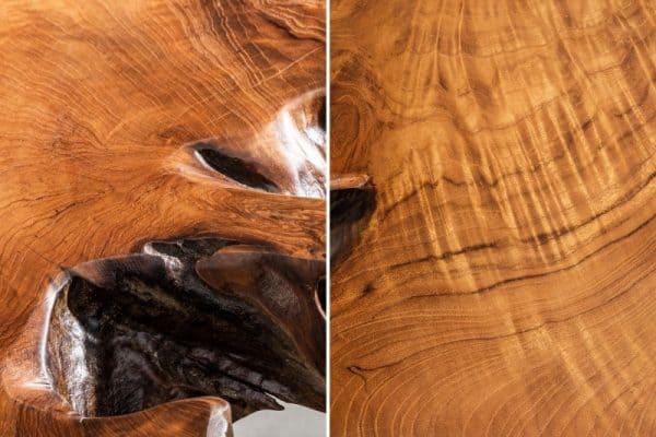 Drevený konferenčný stolík Wild 40 x 100 cm »