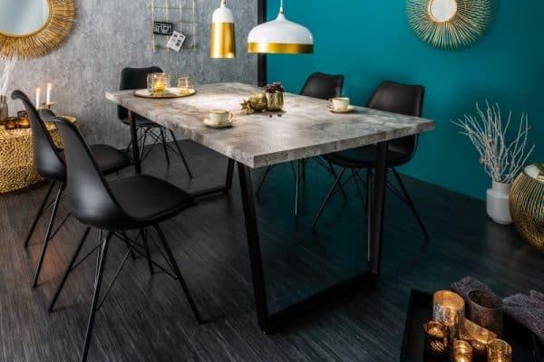 Jedálenský stôl Loft 160cm betón-Optik