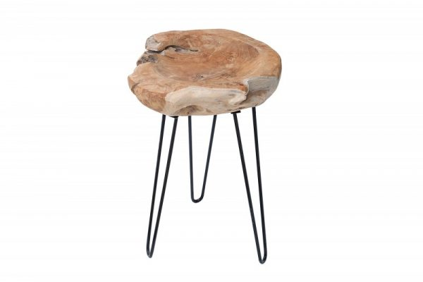 Konferenčný stolík Nature Root 40cm teakové drevo