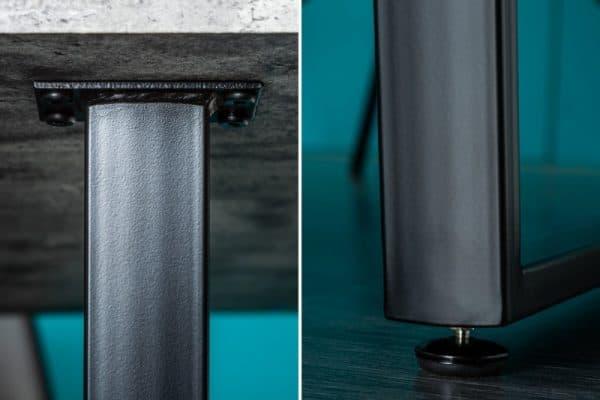 Betónový jedálenský stôl Loft 90 x 160 cm – 40 mm »