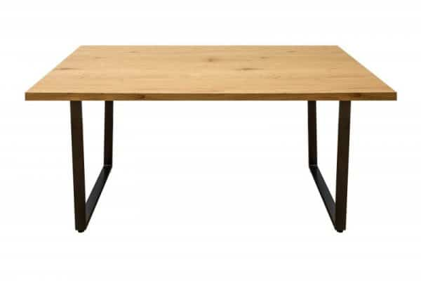 Drevený jedálenský stôl Loft 90 x 160 cm – 40 mm »