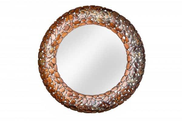 Zrkadlo Stone Mosaic 82cm meď