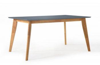 Jedálenský stôl Scandinavia 120cm sivá