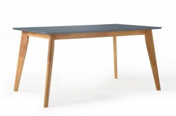 Jedálenský stôl Scandinavia 160cm sivá