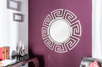 Nástenné zrkadlo Euphoria 85cm strieborná