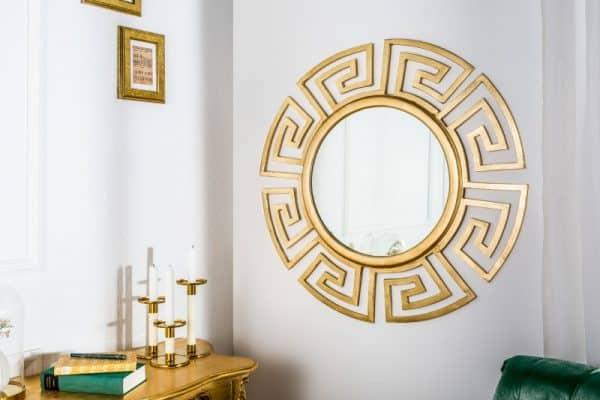 Nástenné zrkadlo Euphoria 85cm zlatá
