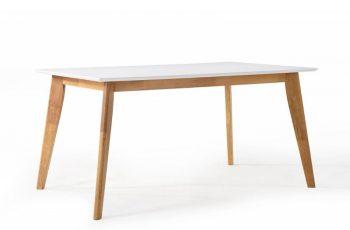 Biely jedálenský stôl Scandinavia 120cm