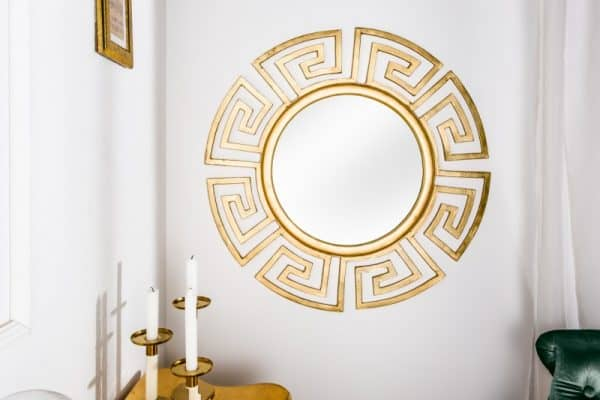 Nástenné zrkadlo Euphoria zlatá 85 cm