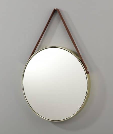 Nástenné zrkadlo Portrait 45cm zlatá