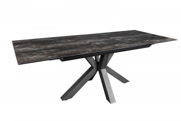 Jedálenský stôl Eternitiy 180-225cm Lava keramika