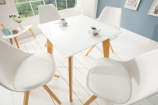 Jedálenský stôl Scandinavia 70cm biela