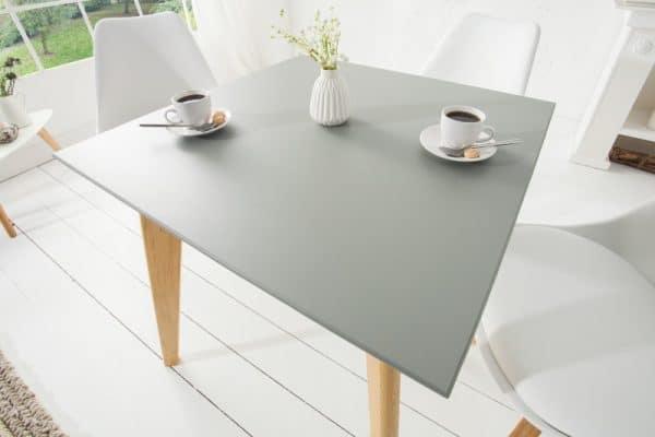 Jedálenský stôl Scandinavia sivá 70cm