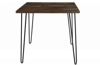 Jedálenský stôl Spider 80cm hnedá agát