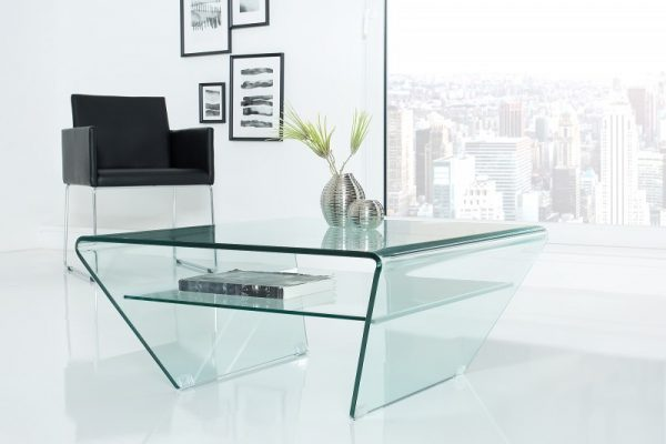 Konferenčný stolík Ghost 70cm Trapez