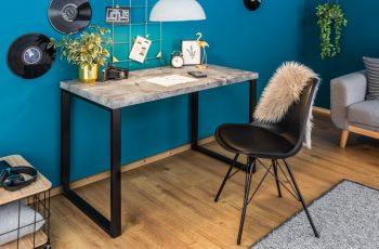 Písací stôl ConcreteDesk 120cm betónoptik