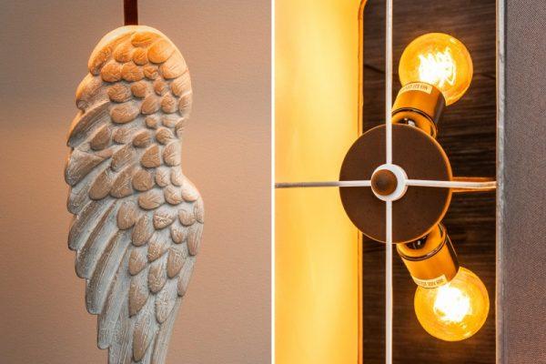 Stolová lampa Angel 85cm Shabby