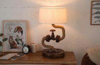 Stolová lampa Seven Seas 60cm Shabby