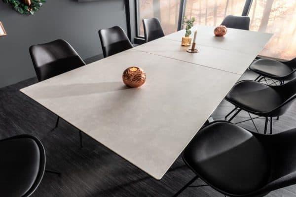 Betónovo-keramický jedálenský stôl Eternity 180-225cm »