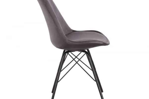 Sivá jedálenská stolička Scandinavia Retro »