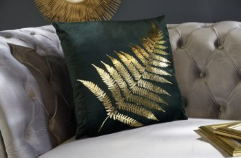 zamatkissen zlatáenes Farnblatt dunkelzelená