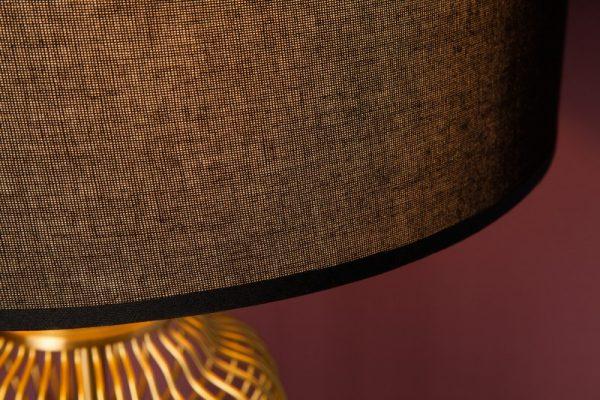 Zlatá stolová lampa Cage 68cm
