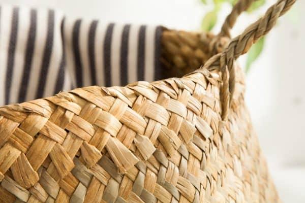 Aufbewahrungskorb Bamboo Lounge 35cm prírodná