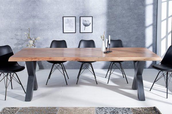 Jedálenský stôl Mammut X 240cm agát 60mm