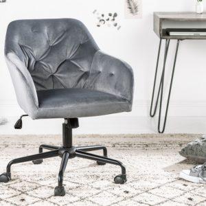 Kancelárska stolička Dutch Comfort Armlehne sivá